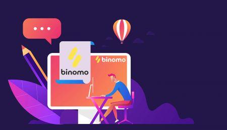 Cómo registrarse e iniciar sesión en una cuenta en Binomo Trading